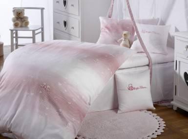 Vorschaubild curt bauer bettwaesche kids herzchen rosa damast
